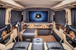 Sala tronului – REDLINE Engineering transformă complet V-Class și Sprinter
