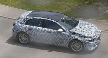 PREMIERĂ: Noul Mercedes A-Class spionat pentru prima dată