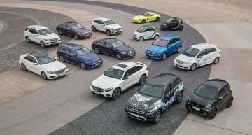 Pariul de 7 miliarde de euro: Mercedes electrifică toată gama
