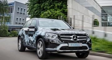 Mercedes GLC F-Cell: SUV-ul alimentat cu hidrogen vine în 2017