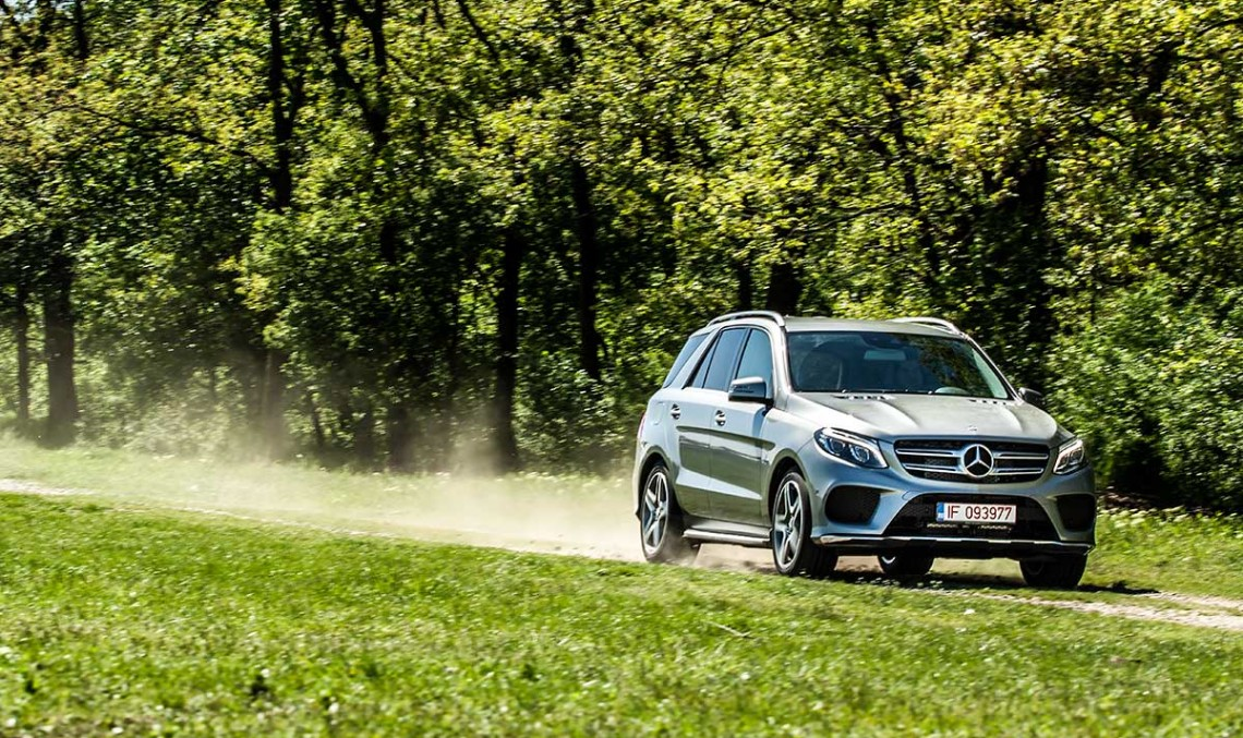 TEST Mercedes-Benz GLE 500 e. Plug-in Hybrid de lux