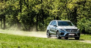 TEST Mercedes-Benz GLE 500 e. Plug-in Hybrid de lux
