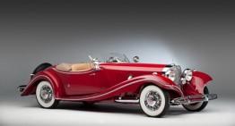 Șocant! Un Mercedes 500K care i-a fost furat lui Hans Prym este cap de afiș la licitația Bonhams