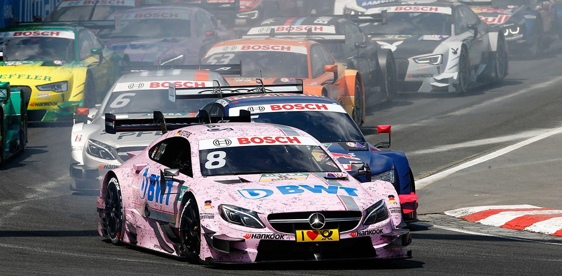 Mercedes a ratat ocazii importante la Norisring
