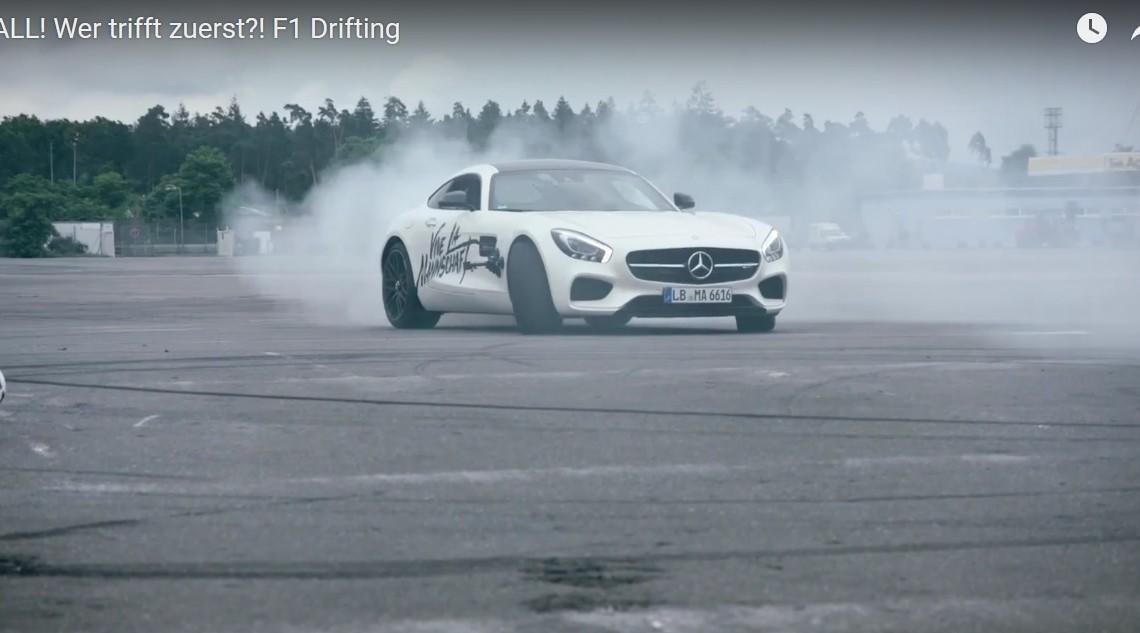 Mașina de goluri – Mercedes-AMG GT S