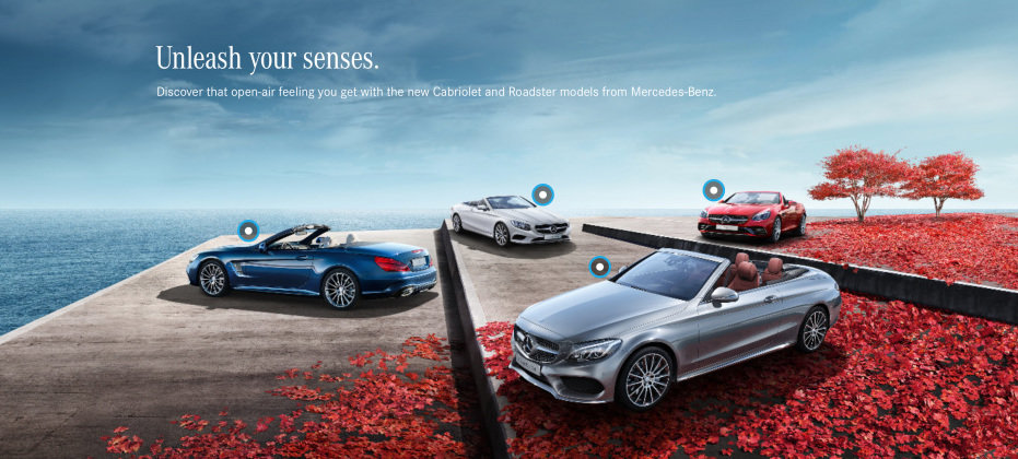 Mercedes-Benz anul masinilor de vis