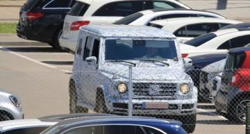 Mercedes G-Class 2018 văzut de auto motor und sport: o caroserie cu totul nouă, cu 10 cm mai lată