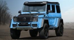 Mercedes-Benz G500 4×4² bleu ca hainele de bebeluș, tunat de Mansory