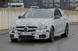 612 CP pentru noul Mercedes-AMG E 63 T-Modell – primele fotografii spion