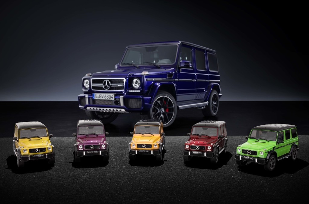 Mini-giganții – Mercedes-AMG G 63 Crazy Color la scară 1:18