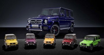 Mini-giganții – Mercedes-AMG G 63 Crazy Color la scară 1:18