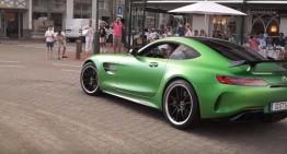 Bestia a evadat! Mercedes-AMG GT R, în premieră, pe drumurile publice