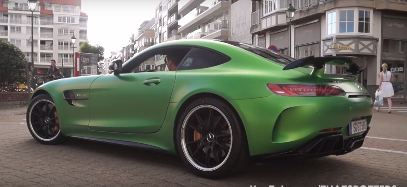 Mercedes-AMG GT R spotted 3