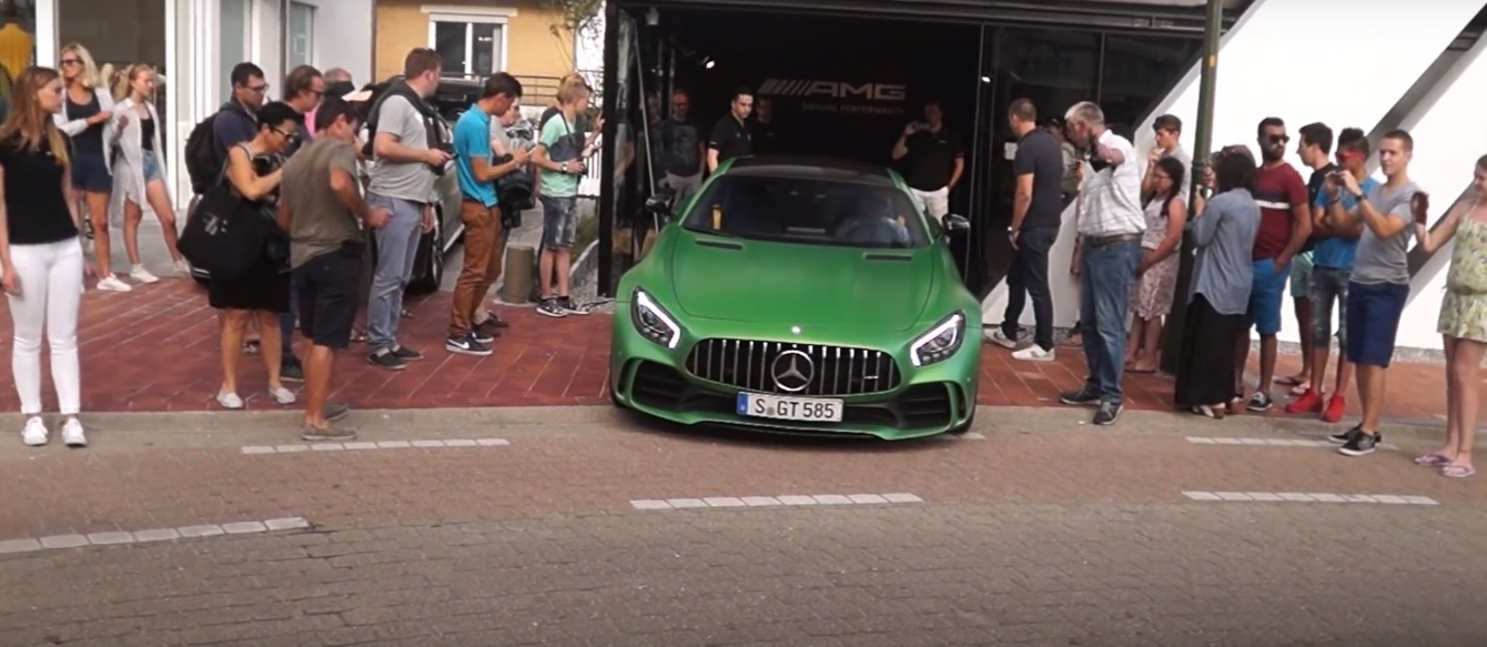 Mercedes-AMG GT R spotted