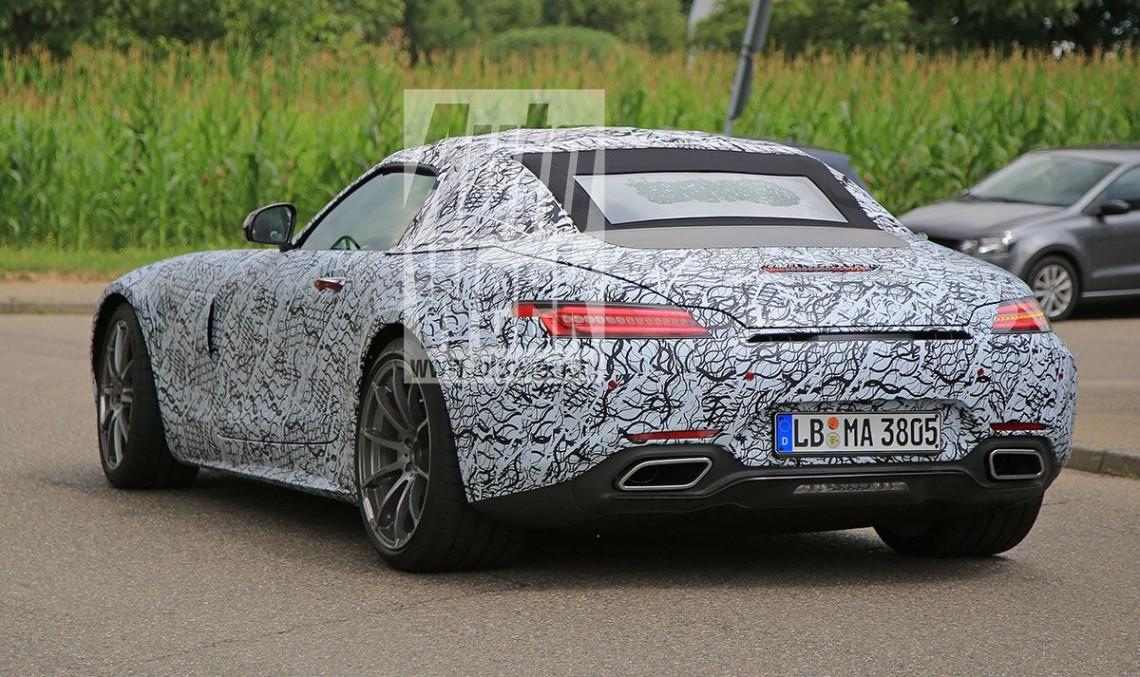 Mercedes-AMG GT Roadster își face apariția în premieră