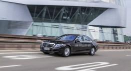 Misiune îndeplinită! Mercedes-Benz S 500 Intelligent Drive se retrage la muzeu