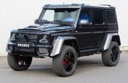 Mai pătrățos ca un pătrat – Mercedes G500 4×4² tunat de Brabus