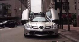 Acesta este cerșetorul care conduce un Mercedes SLR McLaren