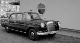 O poveste fără sfârșit – Taxiurile Mercedes-Benz de-a lungul anilor