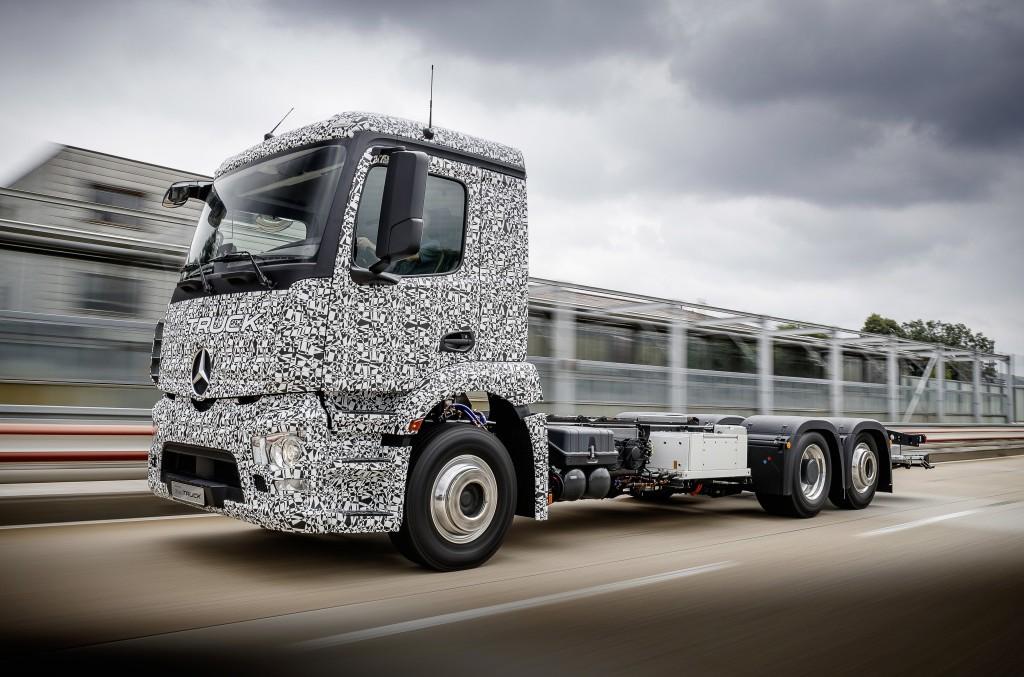 Urban eTruck: Primul camion electric de la Mercedes