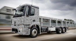 Urban eTruck: Primul camion electric de la Mercedes