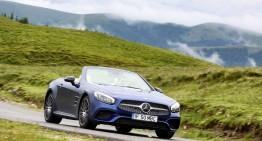 Moștenirea familiei SL. Test cu Mercedes SL 400 facelift