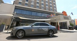 Noul Mercedes-Benz E-Class, mașina oficială la JazzTM 2016