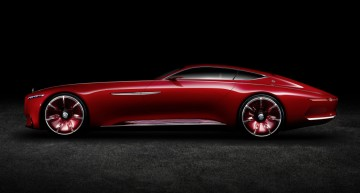 Vision Mercedes-Maybach 6 a pornit la drum