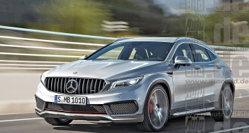 Mercedes GLA 2019 își vede secretele dezvăluite