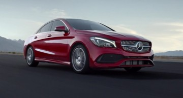 Mercedes-Benz CLA 2017 și-a câștigat locul în istorie – Cea mai recentă reclamă