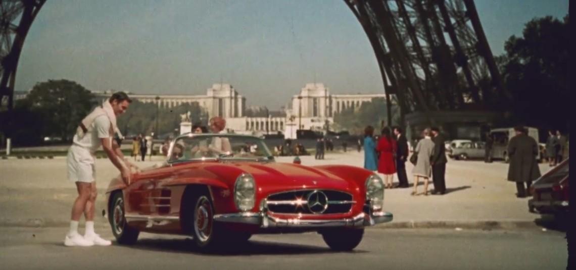 Cei care au schimbat istoria – Roger Federer și Mercedes-Benz SL