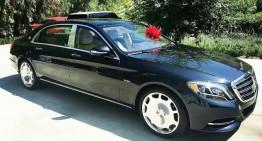 Flota de catifea – O vedetă a primit un Maybach și își vinde Mercedes-ul G-Class îmbrăcat în catifea