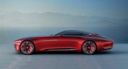 Vision Mercedes-Maybach 6 – Șase metri de lux retro-modern