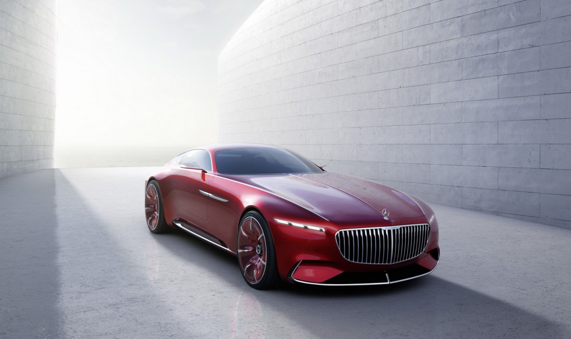 E OFICIAL: Vision Mercedes-Maybach 6 Coupe dezvăluit