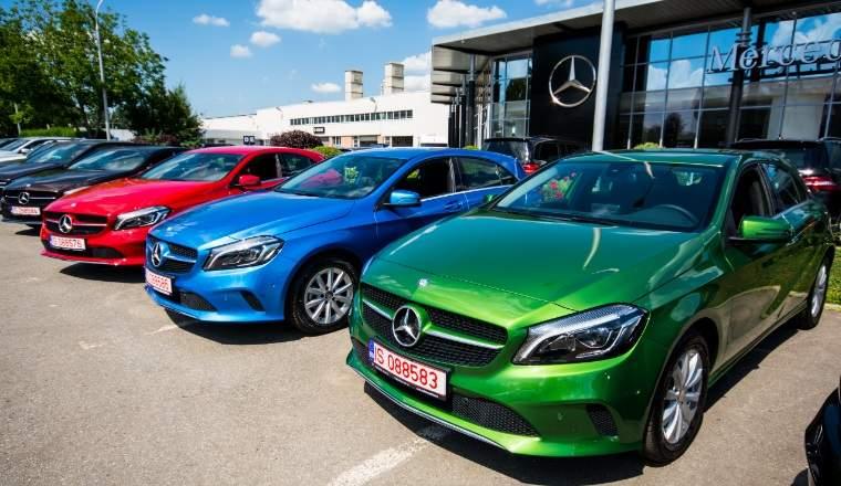 Autonom Rent-a-Car & Lease a comandat 50 de mașini Mercedes-Benz