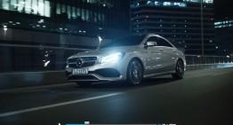 Mercedes-Benz a ales România pentru un spot spectaculos cu CLA