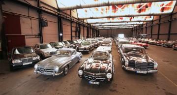 UN TUR AL PIVNIȚEI SECRETE de la Muzeul Mercedes-Benz