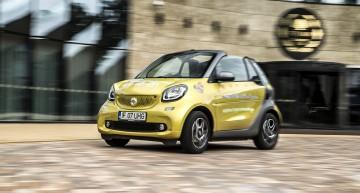 smart fortwo cabriolet – Vara e mai lungă la volanul jucăriei urbane