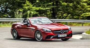 Primul test în România Mercedes-AMG SLC 43: Downsize reușit