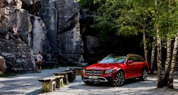 Merge acolo unde niciun break n-a mai ajuns vreodată – Primul clip cu Mercedes-Benz E-Class All-Terrain