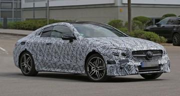 Mercedes E-Class Coupe 2017 și silueta sa sexy – noi fotografii spion