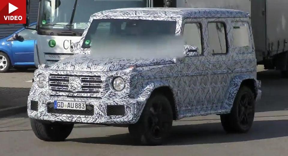 Noul Mercedes G-Class apare anul viitor (IMAGINI NOI)