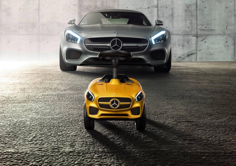 Noul Bobby-Car de la Mercedes-Benz pentru cei mai curajoși dintre șoferi
