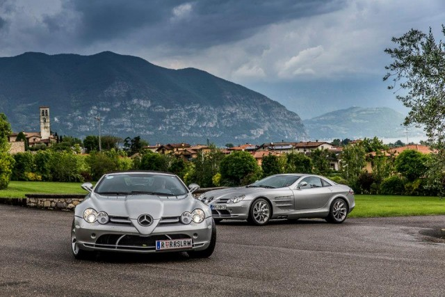 Donald Trump conduce un Mercedes-Benz SLR McLaren