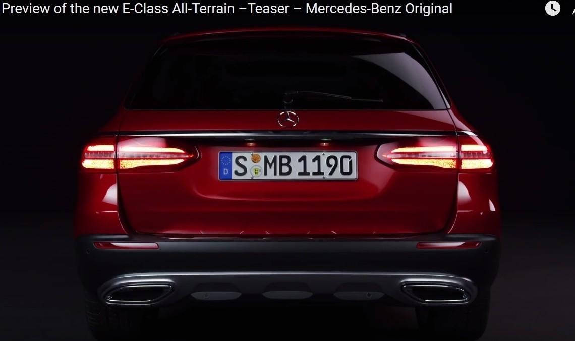 Ne vedem la Paris – Mercedes-Benz E-Class All-Terrain în primul clip promoțional