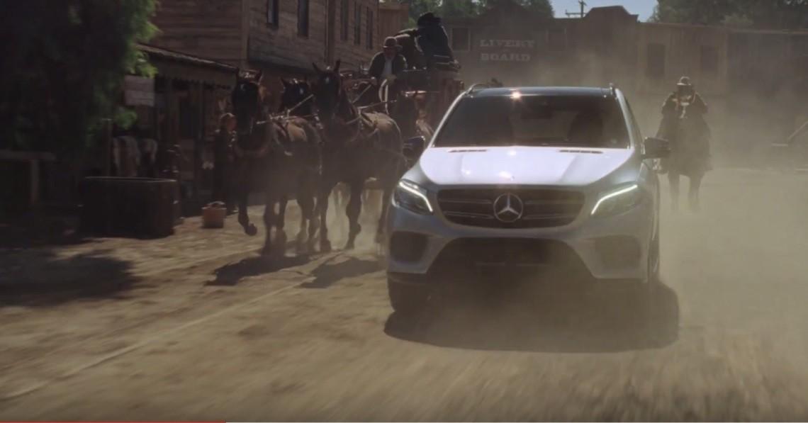 Acțiune! Mercedes-Benz GLE este actor într-o nouă reclamă