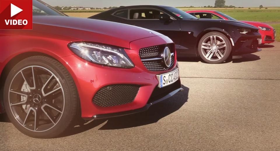 Poate noul Audi S5 să învingă un Mercedes-AMG C 43 în linie dreaptă?