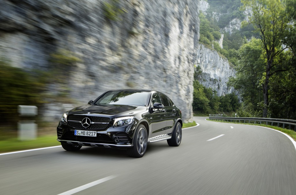 Acesta este Mercedes-AMG GLC 43 Coupé – Inconfundabil