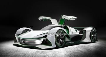 Hypercar-ul Mercedes-AMG R50 cu 1300 CP ar putea sosi la Paris