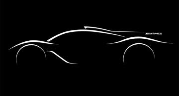 Hypercar Mercedes-AMG cu tehnologie de F1 confirmat la Paris – prima schiță